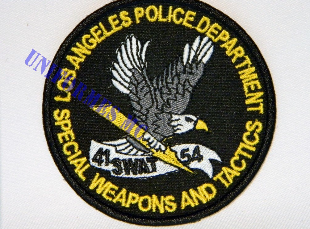 ESCUDO SWAT LOS ANGELES