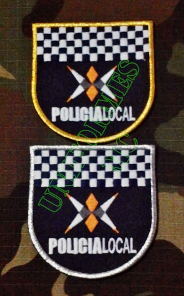 ESCUDO BORDADO POLICIA LOCAL